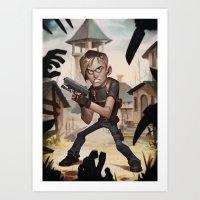 Resident Evil 4 Art Print
