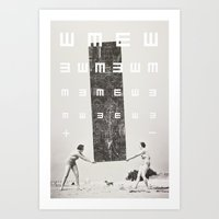 Exam Art Print