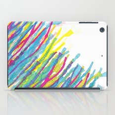 stripes in the wind iPad Case