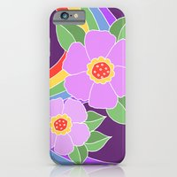 iPhone & iPod Case featuring Rainbow flowers 2 by ArtByBeata