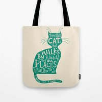'The Cat That Walked By … Tote Bag