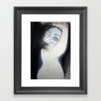 Truth doesn't make a noise  Framed Art Print