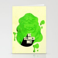 He Slimed Me! Stationery Cards