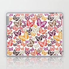 butterflies pattern Laptop & iPad Skin