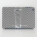 Striped Water iPad Case