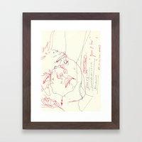 90 4 Framed Art Print