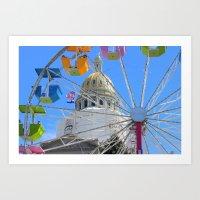Capital Building, Denver Colorado Art Print