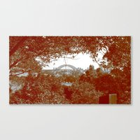 Harbour Bridge through the trees Canvas Print