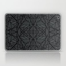 Ab Lace Black and Grey Laptop & iPad Skin