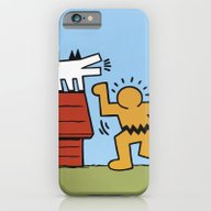 Keith Haring + Charles S… iPhone 6 Slim Case