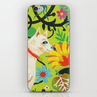 Spring Jindo Dog iPhone & iPod Skin