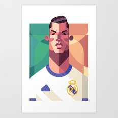 CR7 | Los Merengues Art Print