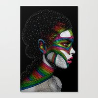 Cosmo girl Canvas Print