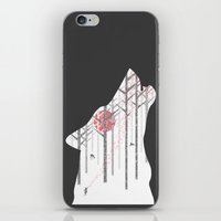 Winter Wolf iPhone & iPod Skin