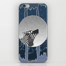 alone in the woods iPhone & iPod Skin