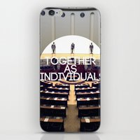 Together As Individuals iPhone & iPod Skin