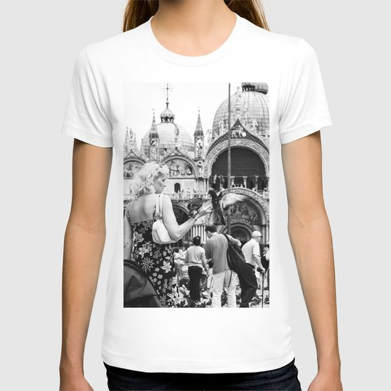 Birds of a Feather - St. Marks Square Italy T-shirt