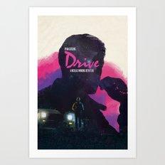 Drive II Art Print