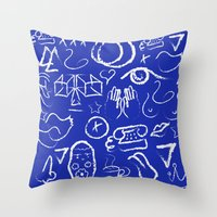 PoP!/2 Throw Pillow