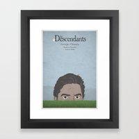 The Descendants - Minima… Framed Art Print