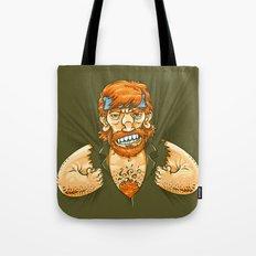 Who wears whom? Tote Bag