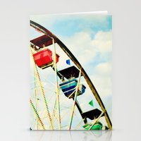 Round And Round We Go Stationery Cards