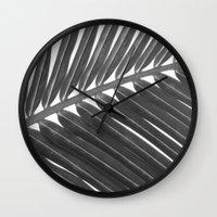 palm 2 Wall Clock