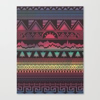 Autunno | Tribal Canvas Print
