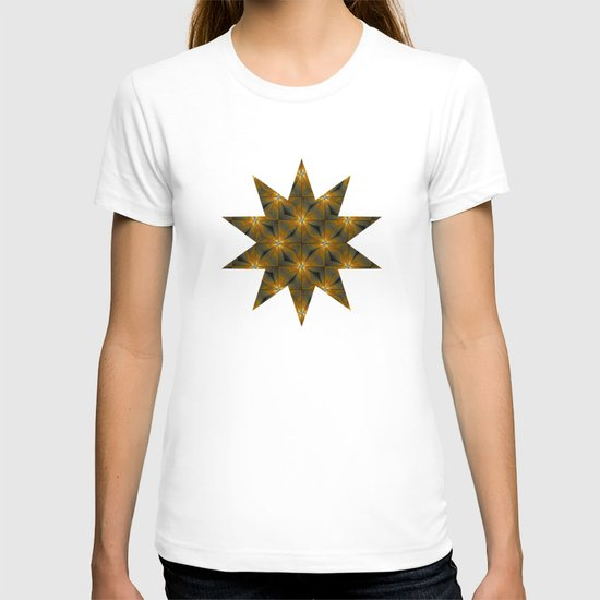 Star Pattern - Yellow T-shirt