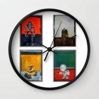 Rothbots (2) Wall Clock