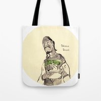 Snoop Dogg About To Eat … Tote Bag