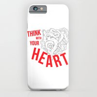 Think With Your Heart iPhone 6 Slim Case