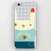 Zombie Bunny Patrol iPhone & iPod Skin