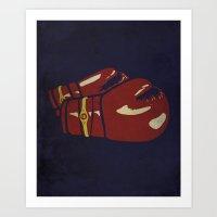 Power Boxing Art Print