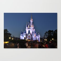 Cinderella's Castle II Canvas Print