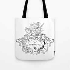 Leo & Tiger Tote Bag
