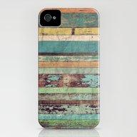 Wooden Vintage  iPhone (4, 4s) Slim Case