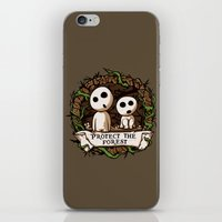 Save Kodamas V2 iPhone & iPod Skin