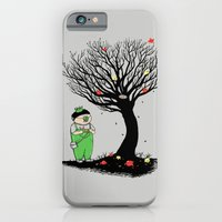 iPhone & iPod Case featuring The Egg Collector by pigboom el crapo