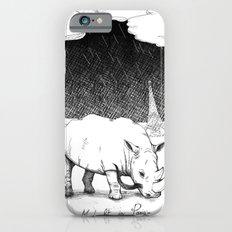 Rhino during Midnight in Paris iPhone 6 Slim Case