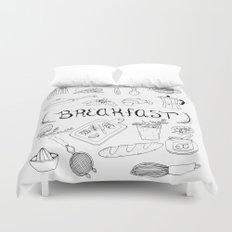 Breakfast Duvet Cover