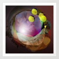 the abstract dream 25 Art Print