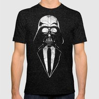 Darth Vader Gentleman Mens Fitted Tee Tri-Black SMALL