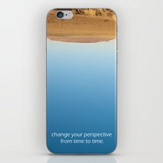 Change your perspective from time to time. iPhone & iPod Skin
