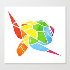 Shapeshifting Turtle Canvas Print