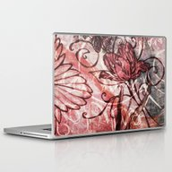 Laptop & iPad Skin featuring Red Tulip by Dominique Gwerder