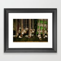 Excuse Me, Have You Got … Framed Art Print