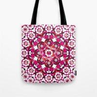 Khatem Rosette 002 | Magenta Tote Bag
