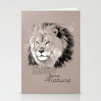 Lion (BornInNature) Stationery Cards