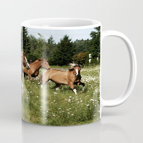 Spring Horse Run Mug
